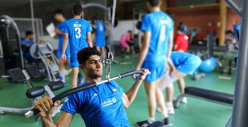 برنامه بدنسازی والیبال نوجوانان